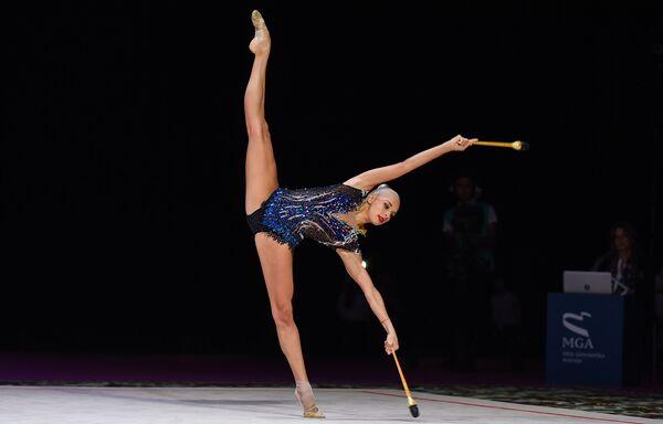 Итоги Кубка мира по художественной гимнастике в Баку - Sputnik Азербайджан