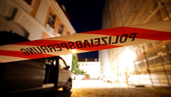 Absbaxdakı terror aktı yerində polis əməkdaşları işləyir - Sputnik Azərbaycan