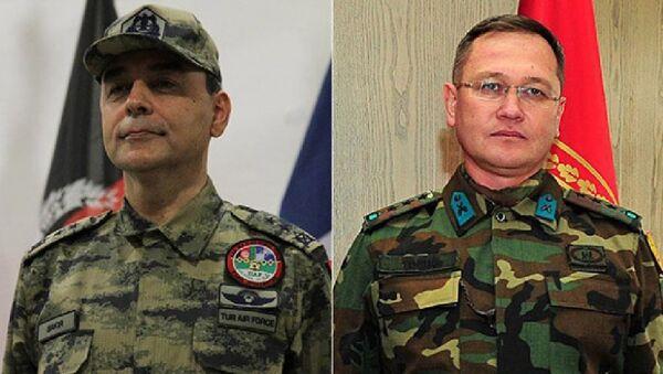Generallar Cahit Bəkir və Şener Topuç - Sputnik Azərbaycan