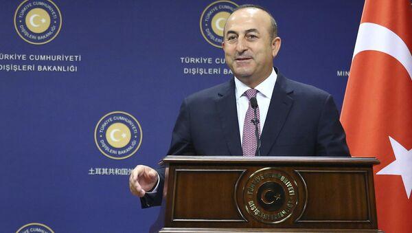 Мевлют Чавушоглу, министр иностранных дел Турции - Sputnik Азербайджан