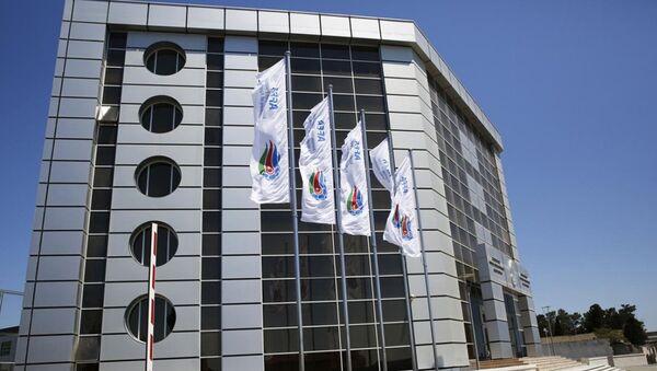 Здание АФФА в Баку. Архивное фото - Sputnik Азербайджан