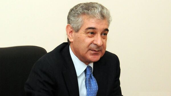 Вице-премьер правительства Азербайджана Али Ахмедов. Архивное фото - Sputnik Азербайджан
