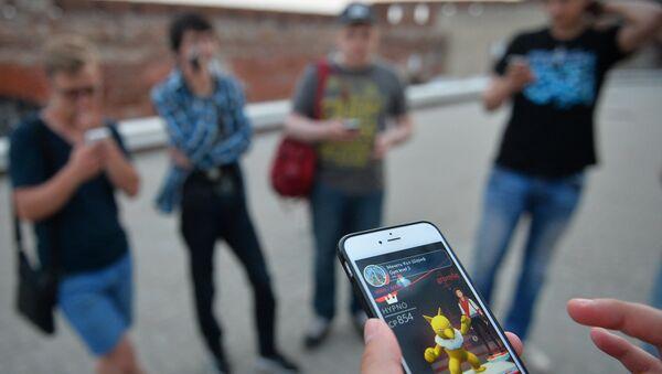 Игровое приложение Pokemon Go от компании Nintendo - Sputnik Azərbaycan