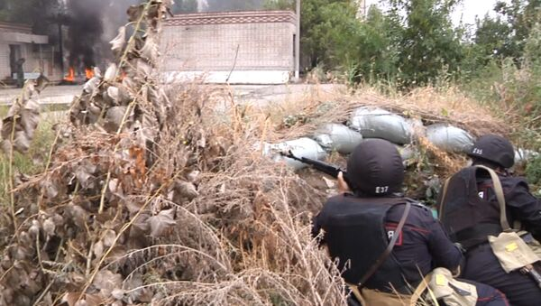 Нацгвардия и Минобороны России провели антитеррористические учения - Sputnik Азербайджан