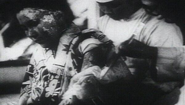 Атомный взрыв в Хиросиме. Кадры из архива - Sputnik Азербайджан