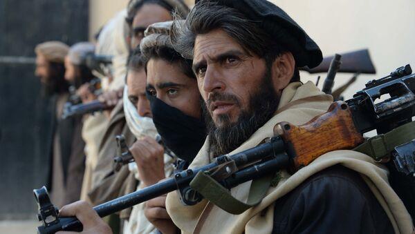 Боевики группировки Талибан. Архивное фото - Sputnik Azərbaycan