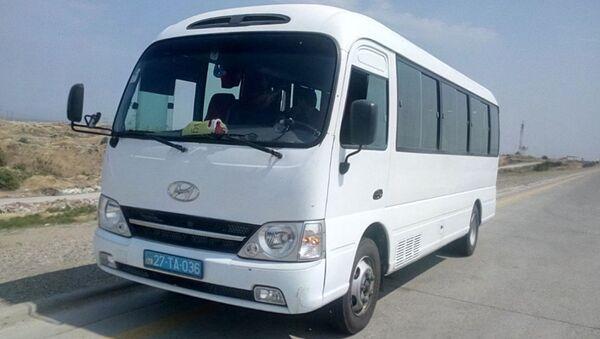 Автобус Баку-Набрань - Sputnik Азербайджан