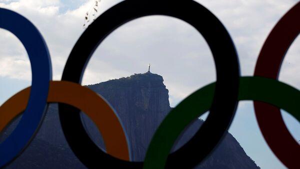 Rio-de-Janeyroda Olimpiadaya hazırlıq - Sputnik Azərbaycan