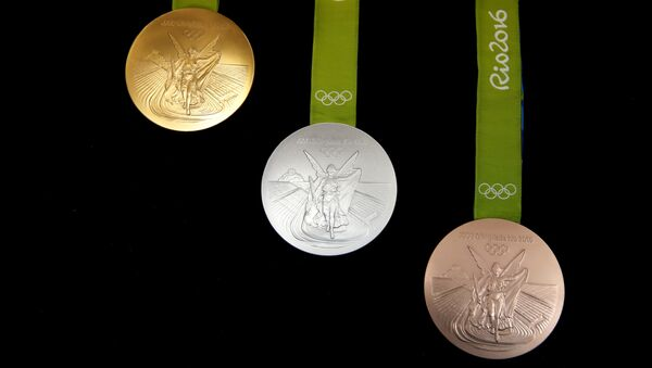 Олимпийские медали Рио-2016 - Sputnik Азербайджан