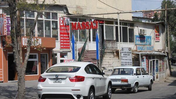 Bakıda massaj salonu - Sputnik Azərbaycan