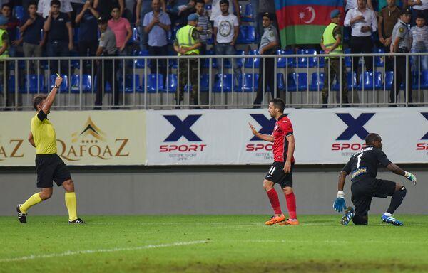 Матч 3-го квалификационного раунда Лиги Европы Габала – Лилль - Sputnik Азербайджан