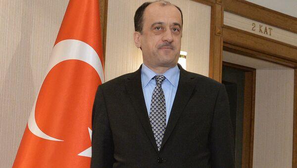 Посол Турецкой республики в РФ Умит Ярдым. Архивное фото - Sputnik Азербайджан