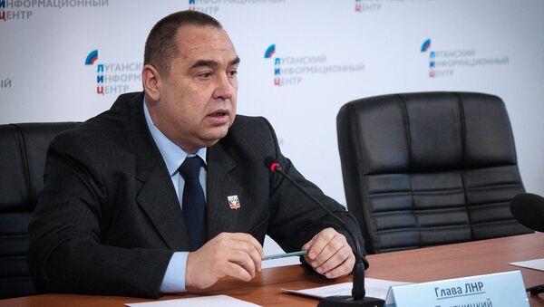 Luqansk Xalq Respublikası separatçılarının lideri İqor Plotnitski - Sputnik Azərbaycan