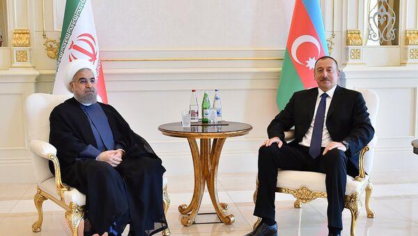 Встреча Президента Азербайджана Ильхама Алиева и Президента Ирана Хасана Роухани - Sputnik Азербайджан