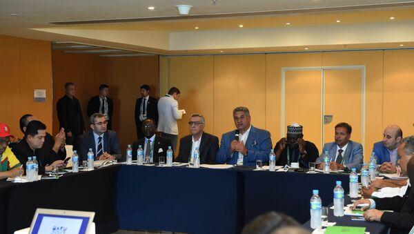 Презентация IV Игр исламской солидарности - Sputnik Азербайджан