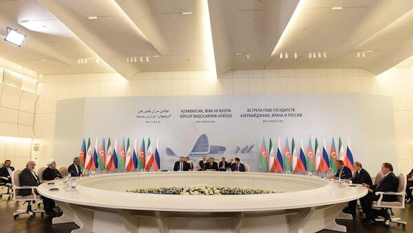 Подписание совместной декларации - Sputnik Азербайджан