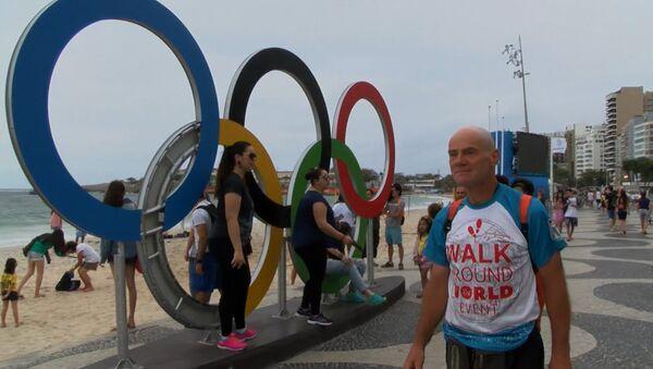 Пешком до Рио-де-Жанейро - за 469 дней - Sputnik Азербайджан