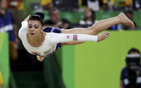 Художественная гимнастика, финал. Выступление Клаудии Фрагапэйн (Великобритания) - Sputnik Азербайджан