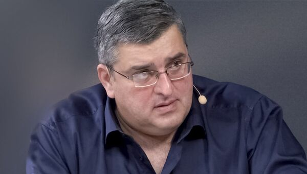 Гела Васадзе, грузинский политолог - Sputnik Азербайджан