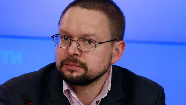 Николай Силаев , cтарший научный сотрудник Центра проблем Кавказа и региональной безопасности МГИМО - Sputnik Азербайджан