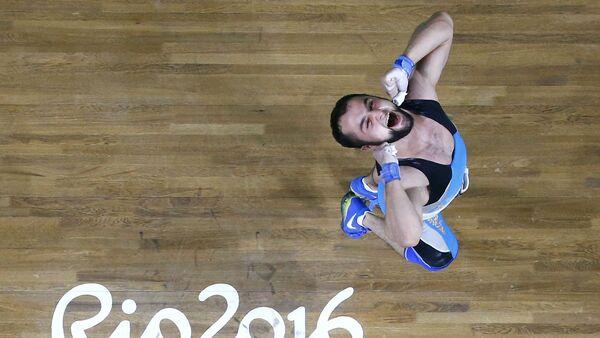 Rio-2016 Yay Olimpiya Oyunlarının qızıl medalçısı Nicat Rəhimov - Sputnik Азербайджан