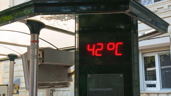 Уличный термометр в Баку - Sputnik Азербайджан