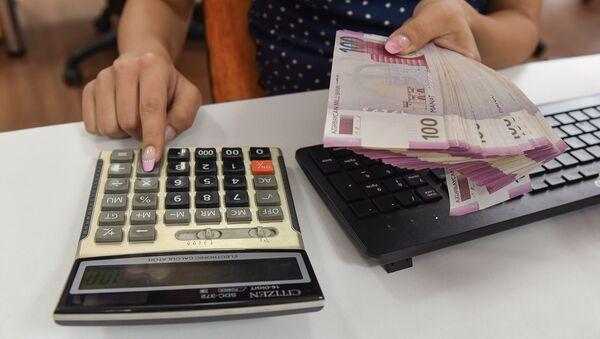 Банковские операции, архивное фото - Sputnik Азербайджан