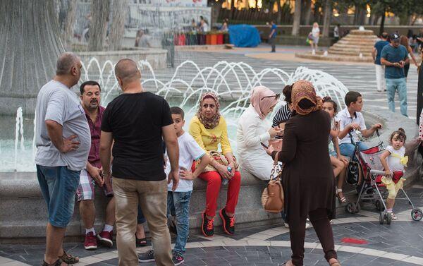 Арабские туристы в Баку - Sputnik Азербайджан