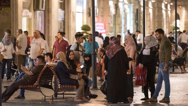 Арабские туристы в Баку, фото из архива - Sputnik Азербайджан