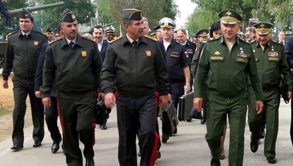 Церемония закрытия международных соревнований военнослужащих - Sputnik Азербайджан