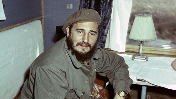 Фидель Кастро. Архивное фото - Sputnik Азербайджан