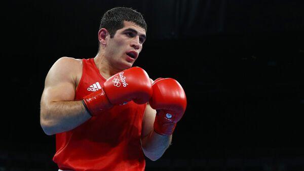 Азербайджанский боксер Камран Шахсуварлы - Sputnik Azərbaycan
