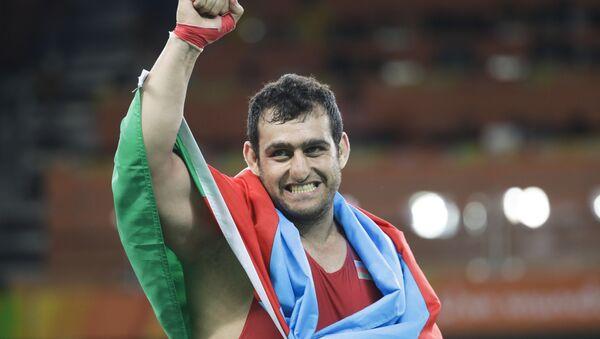 Борец Сабах Шариати - Sputnik Азербайджан
