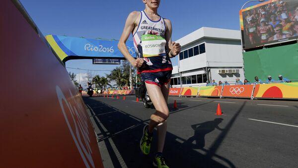 Böyük Britaniya millisinin atleti Tom Bosvort - Sputnik Azərbaycan