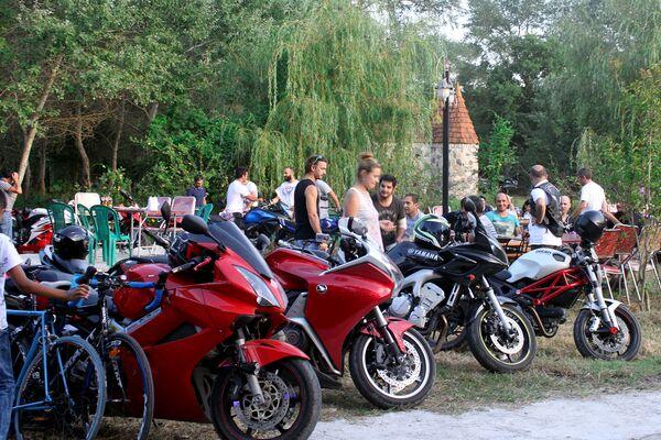 Международный мотофестиваль Caspian Motorcycle Festival в Набрани - Sputnik Азербайджан