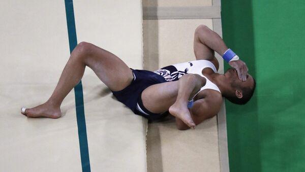 Французский гимнаст Самир Аита Саид - Sputnik Азербайджан