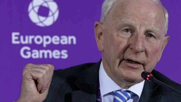 Patrik Hikk - Avropa Ölimpiya Komitəsinin prezidenti - Sputnik Azərbaycan
