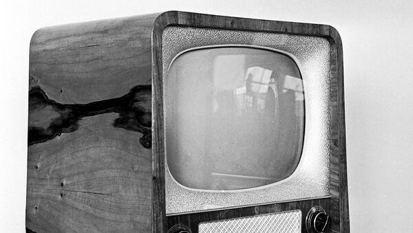 Советский телевизор Рубин - Sputnik Azərbaycan