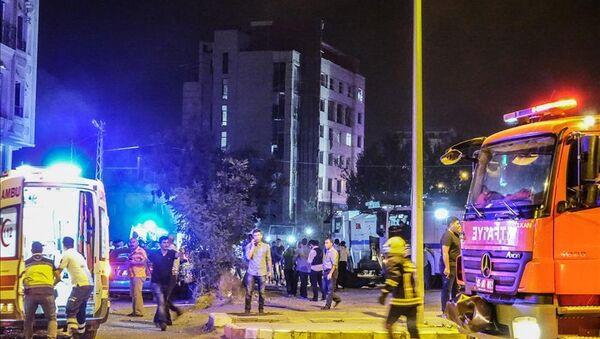 Türkiyənin Van vilayətinin İpəkyolu rayonunda terror aktı törədilib - Sputnik Azərbaycan