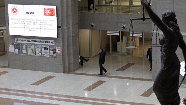 İstanbul Ədliyyəsi - Sputnik Азербайджан