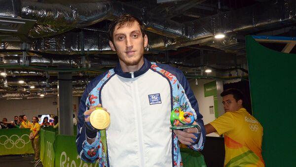 Olimpiadanın qızıl medalçısı Radik İsayev - Sputnik Azərbaycan