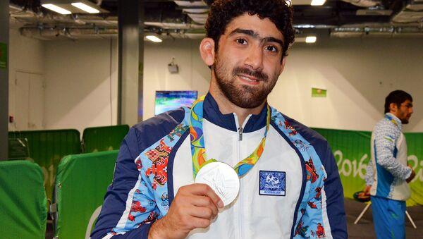 Серебряный призер Летних Олимпийских игр 2016 Тогрул Аскеров - Sputnik Azərbaycan