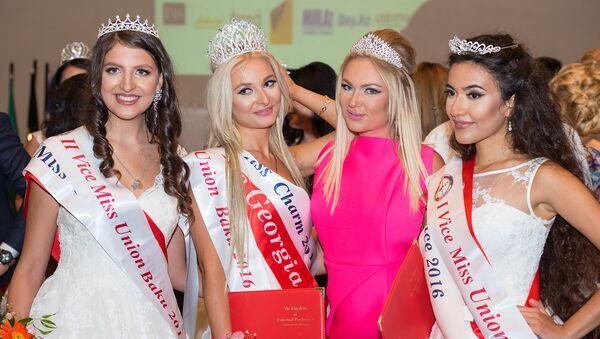 Финал конкурса красоты Miss Union Baku 2016 - Sputnik Азербайджан