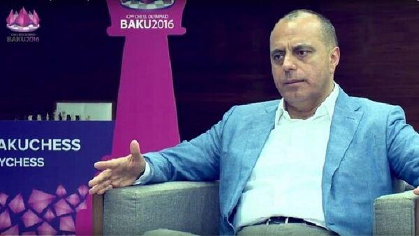 Bakı Şahmat Olimpiadası Əməliyyat Komitəsinin direktoru Mahir Məmmədov - Sputnik Azərbaycan