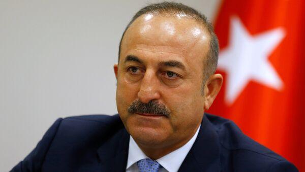 Мевлют Чавушоглу, министр иностранных дел Турции - Sputnik Azərbaycan