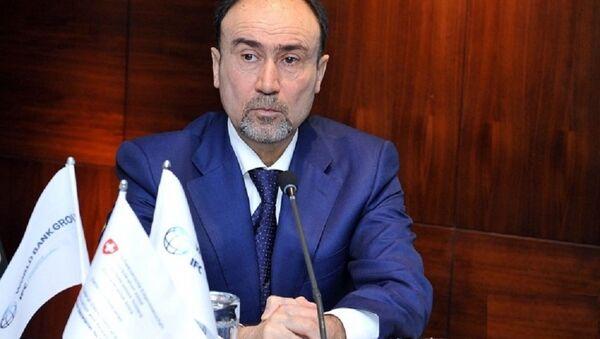 Председатель Ассоциации банков Азербайджана (АБА) Закир Нуриев - Sputnik Азербайджан