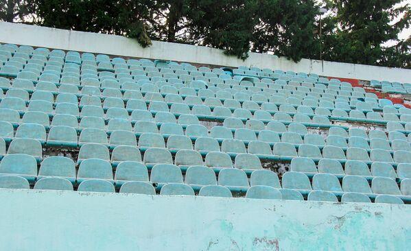 Əsası 1981-ci ildə qoyulan arenanın azarkeş tutumu 13500 nəfərdir - Sputnik Azərbaycan