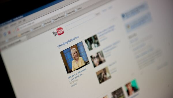 YouTube-un ana səhifəsi - Sputnik Азербайджан