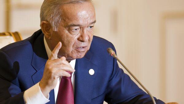 Первый президент Республики Узбекистан Ислам Керимов - Sputnik Азербайджан