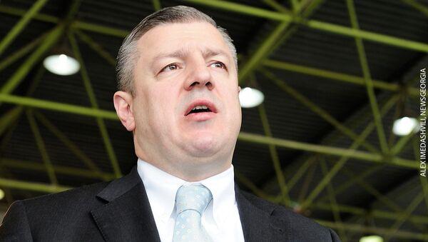 Премьер Грузии Гиоргий Квирикашвили - Sputnik Азербайджан